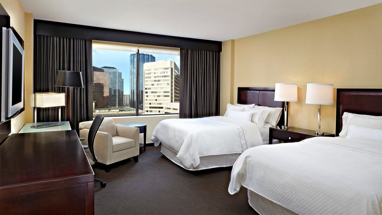 Traditional and Premium City View Rooms
